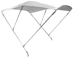 Tall Triple Bimini Awning